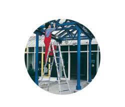 Štvordielne viacúčeľové rebríky