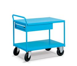 Dvojplošinové vozíky