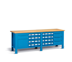 Kovové stoly montované - skladom