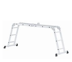 Viacúčelový rebrík 4-dielny
