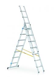 Víceúčelový žebřík 3-dílný