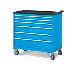 Pojazdné zásuvkové skrine 1098x574mm