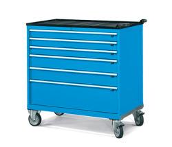Pojazdné zásuvkové skrine 1098x727mm