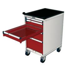 Pojazdné zásuvkové skrine 587x647mm