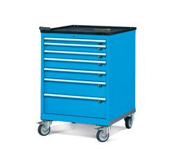 Pojazdné zásuvkové skrine 717x802mm