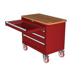 Pojazdné zásuvkové skrine 947x752mm