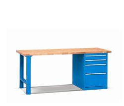 Pracovné stoly - doska buková špárovka