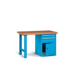 Pracovné stoly široké 1300 mm