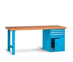 Pracovné stoly široké 2000 mm
