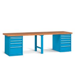 Pracovné stoly široké 3000 mm