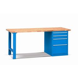 Pracovné stoly - buk šírka 1500 mm