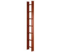 Strešné rebríky, tehlovo červená farba