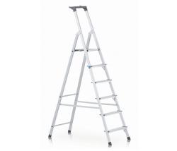 Stupňový stojací rebrík, jednostranne schodný