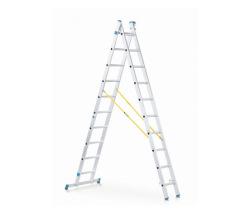 Viacúčeľový rebrík 2-dielny