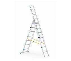 Viacúčeľový rebrík 3-dielny