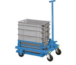 Vozíky pre transport prepraviek a zásobníkov