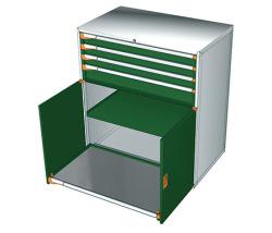 Zásuvkové skrine 1190x726mm