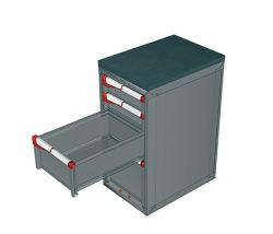 Zásuvkové skrine 408x573mm