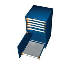 Zásuvkové skrine 561x573mm