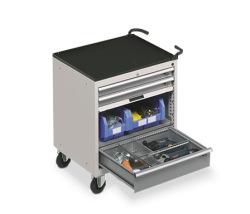 Zásuvkové skrine Flexa - pojazdné