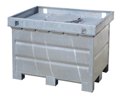 Dvouplášťový kontejner na nebezpečné kapaliny