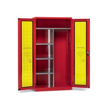 Bezpečnostná skriňa pre osobné ochranné pomôcky a zariadenie požiarnej ochrany