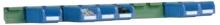 Lišta pre zavesenie skosených prepraviek FPM1751 vrátane prepraviek