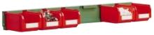 Lišta pre zavesenie skosených prepraviek FPM2551 vrátane prepraviek