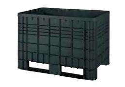 Plastová velkoobjemová paleta - Bigbox G5 s ližinami - recyklát
