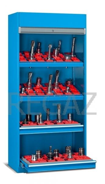 Nástrojová skříň s roletovými dveřmi