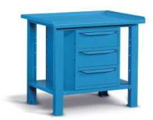 Ocelový stůl montovaný š.1031mm