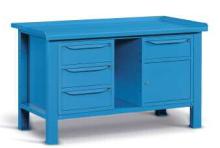 Kovový stôl montovaný šírka 1507 mm