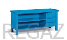 Ocelový stôl montovaný š. 2007mm