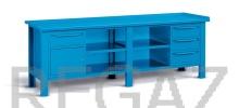 Oceľový stôl montovaný š. 2507mm