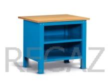 Oceľový stôl montovaný š. 1024mm