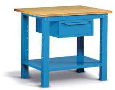 Ocelový stůl montovaný š. 1024mm
