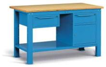 Kovový stôl montovaný šírka 1500 mm