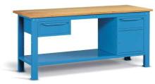 Kovový stôl montovaný šírka 2000 mm
