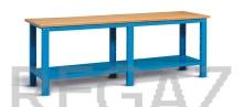 Kovový stôl montovaný šírka 2500 mm