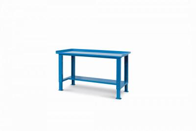 Ocelový stůl montovaný, výškově stavitelný  š.1507mm