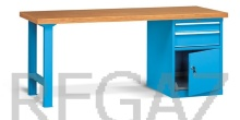 Pracovný stôl univerzálny šírka 2000 mm