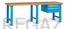 Pracovný stôl univerzálny šírka 2500 mm