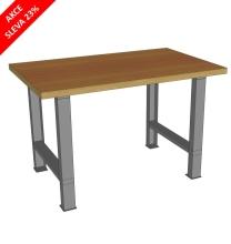 Pracovný stôl univerzálny š.1300mm - akciová cena