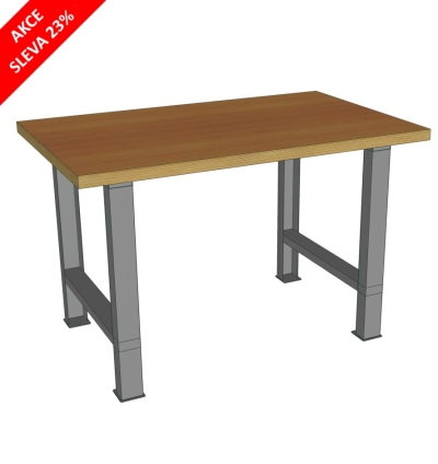 Pracovní stůl univerzální š.1300mm - akční cena