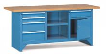Pracovný stôl modulárny š.2000mm