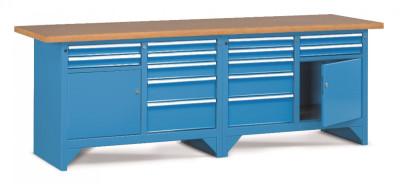 Pracovní stůl modulární š.2500mm
