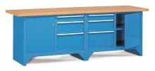 Pracovný stôl modulárny š.2500mm
