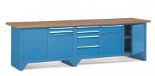 Pracovný stôl modulárny š.3000mm