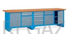 Pracovný stôl modulárny šírka 3000 mm