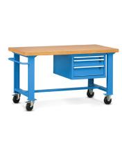 Pojazdný stôl univerzálny šírka 1500 mm